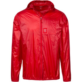 Topo Designs Ultralight Chaqueta Hombre, red